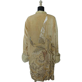 Opera coat, Evening Coat, Flapper, Evening Mantle, 1920s, 20s