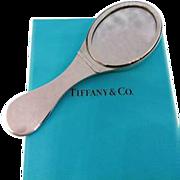 Tiffany & Co Sterling Silver Pocket Folding Mirror