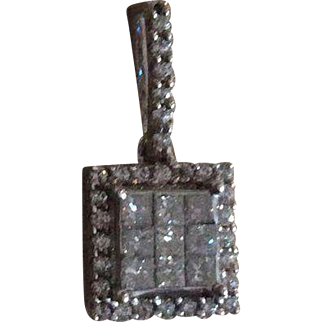 3/4 Carat Genuine Diamond Pendant