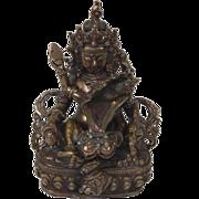 Vintage Bronze Hindu Buddhist Tantra Tradition Shiva-Shakti Figures Statue