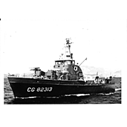 Vintage Photo Brown Water Navy Vietnam War Era CG Cutter Original Photograph
