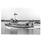 Vintage Photo Brown Water Navy Vietnam War Era Swift Boats Original Photograph