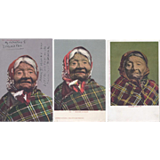 Vintage Postcard Lot of 5 Native American Lifestyle Portrait Princess Angeline