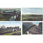 Vintage Postcard Lot of 4 Scenery US States Connecticut Maryland New Hampshire