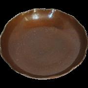 Hand Hammered Avon Coppersmith Bowl, Avon, NY, 1902 – 40