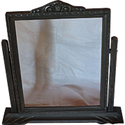 Art Deco Wood & Gesso Swing Frame for 8 x10 Photo