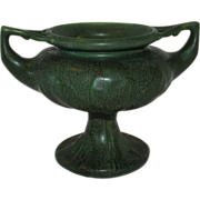Hampshire Double Handled Trophy or Urn Style Arts & Crafts Vase, Keene NH, 1904 - 14