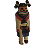 Vintage Hand Carved & Hand Painted Wooden Hopi Kachina Doll