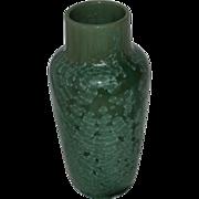 French Art Pottery Vase Crystalline Glaze Attributed to Sarreguemines