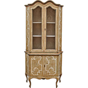 Italian Painted Baroque Style Cabinet