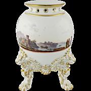 19th Century Meissen Porcelain Pot Pourri Urn