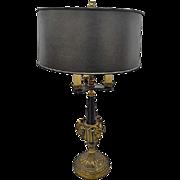 Louis XVI Style 3 Light Candlestick Lamp
