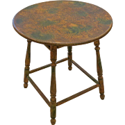 18th Century American Painted Tavern Table