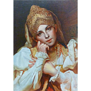 Contemporary Russian Portrait of Woman
