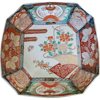 Japanese Meiji Imari Porcelain Bowl