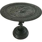 Bronze Sculptural Tazza Louis Emile Cana 1845-1895 French