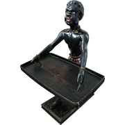 19th Century Blackamoor With Tray