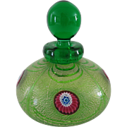 Franco Moretti Vintage Murano Glass Perfume Bottle
