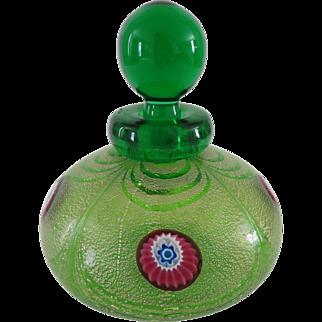 Franco Moretti Vintage Murano Glass Perfume Bottle