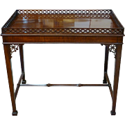 Eighteenth English Mahogany George III Tea Table