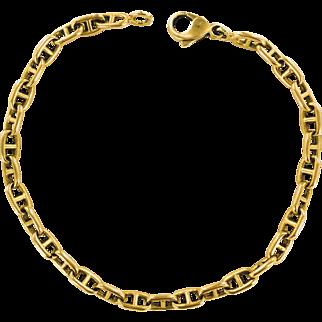 Hermes Paris 18K Yellow Gold Bracelet