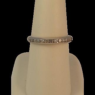 14KWG Diamond Wedding Ring