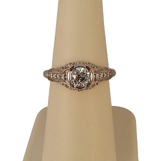 .85ctw 14K Diamond Ring