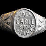 Jack the Giant Ring Circus  Freak Show Souvenir
