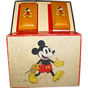Mickey Mouse in BOX Brush set Children's - Red Tag Sale Item