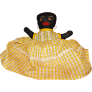Black Mammy Doll Shelf Sitter Americana