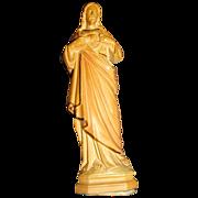 Metal Jesus Catholic Church Statue Figure