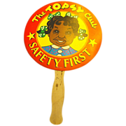 The Topsy Club, Safety First Black Americana Fan Advertising