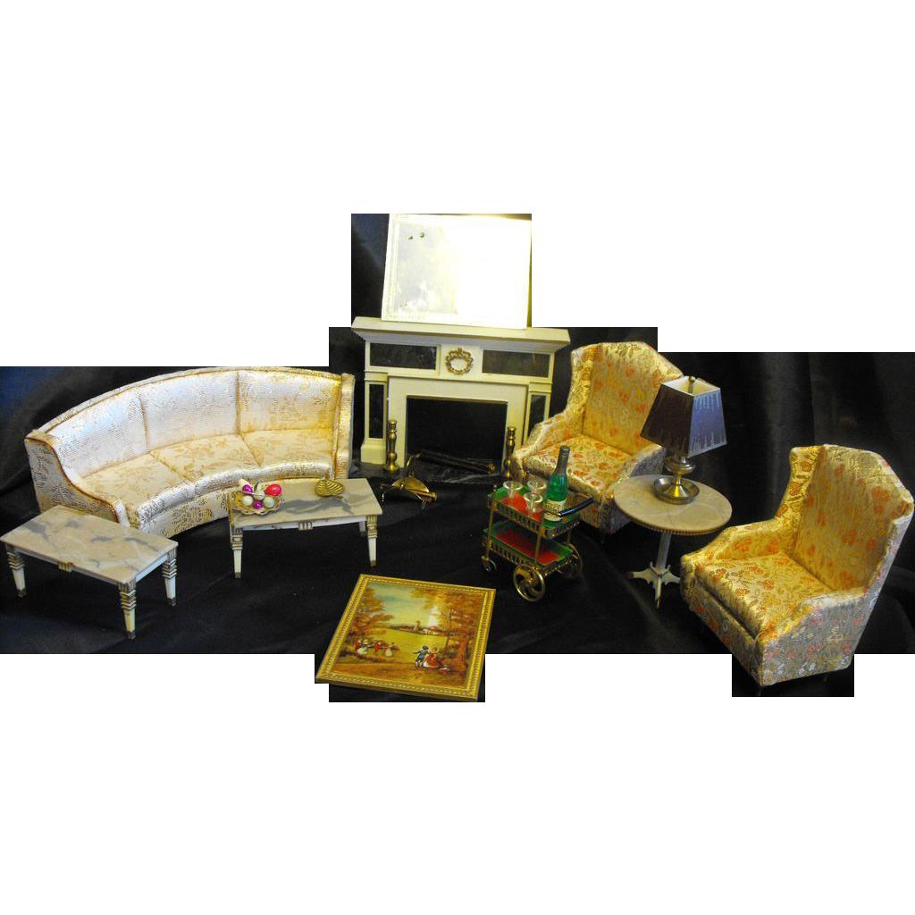 Petite Princess Fantasy Furniture Living Room Set Ideal - Red Tag ...