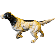 Cast Iron Doorstop Setter Pointer Dog