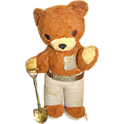 Smokey Ranger Bear Ideal Stuffed Toy Prevent Forest Fires