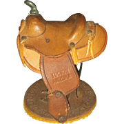 1941 Leather Saddle Souvenir or Salesman Sample