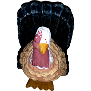 Vintage Paper Mache Tom Turkey