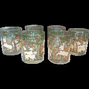 Cera Unicorn Old Fashioned Glasses Woodland Creatures