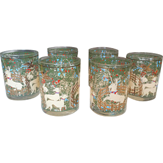 Cera Unicorn Old Fashioned Glasses Woodland Creatures
