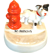 Japan Dog Fire Hydrant No Parking Figure