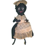 French Black Maid Doll Pipe Cleaners