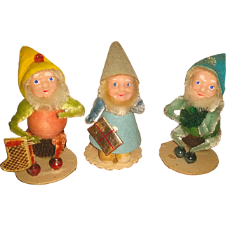 Christmas Elf Elves Gnome Made in Japan