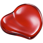Tiffany & Co Red Heart Paperweight