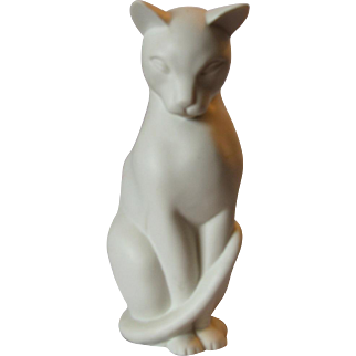 Crowning Touch Mid-Century Modern Cat Figure