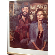Celebrity Photograph & memorabilia from Snuff Garrett, Cher, and Roy Rogers