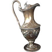Victorian Tiffany Sterling Ewer