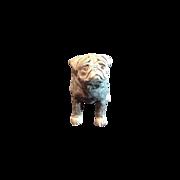 Terra cotta Pug Dog Sculpture