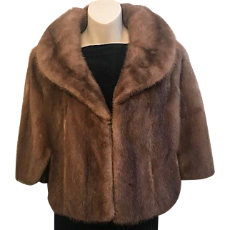 Vintage EMBA Fur Cape