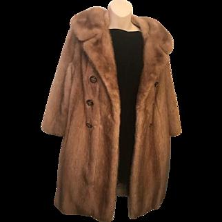 EMBA Fur Walking Coat
