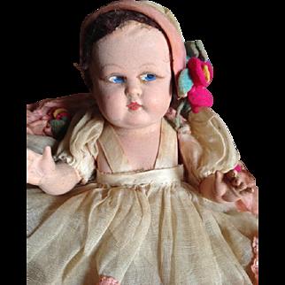Vintage Doll 30 years marked Tartaruga